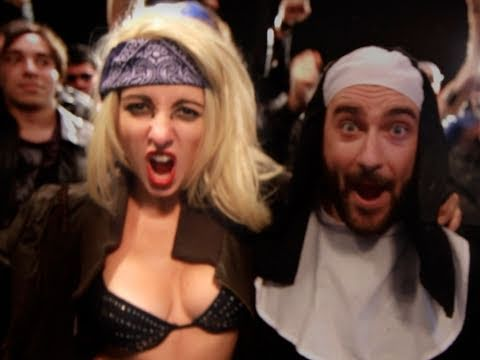 Lady Gaga - Judas Parody!  Key Of Awesome #42 video
