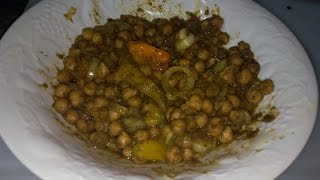 Channa (Garbanzo or Chick Peas) Curry