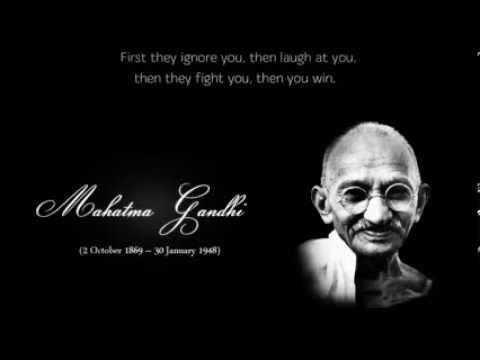 Gandhi kavitha