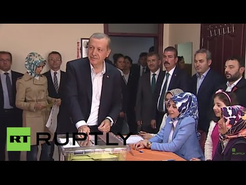 Turkey: Erdogan casts his ballot at parliamentary election in Istanbul