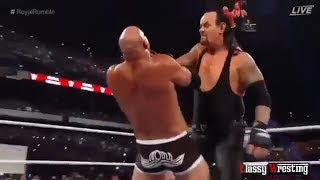 UNDERTAKER VS GOLDBERG FULL MATCH