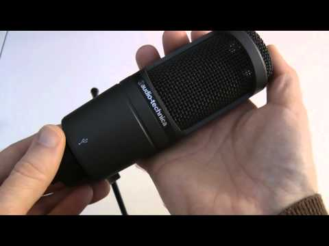 Audio Technica AT2020 USB Condenser Microphone Review