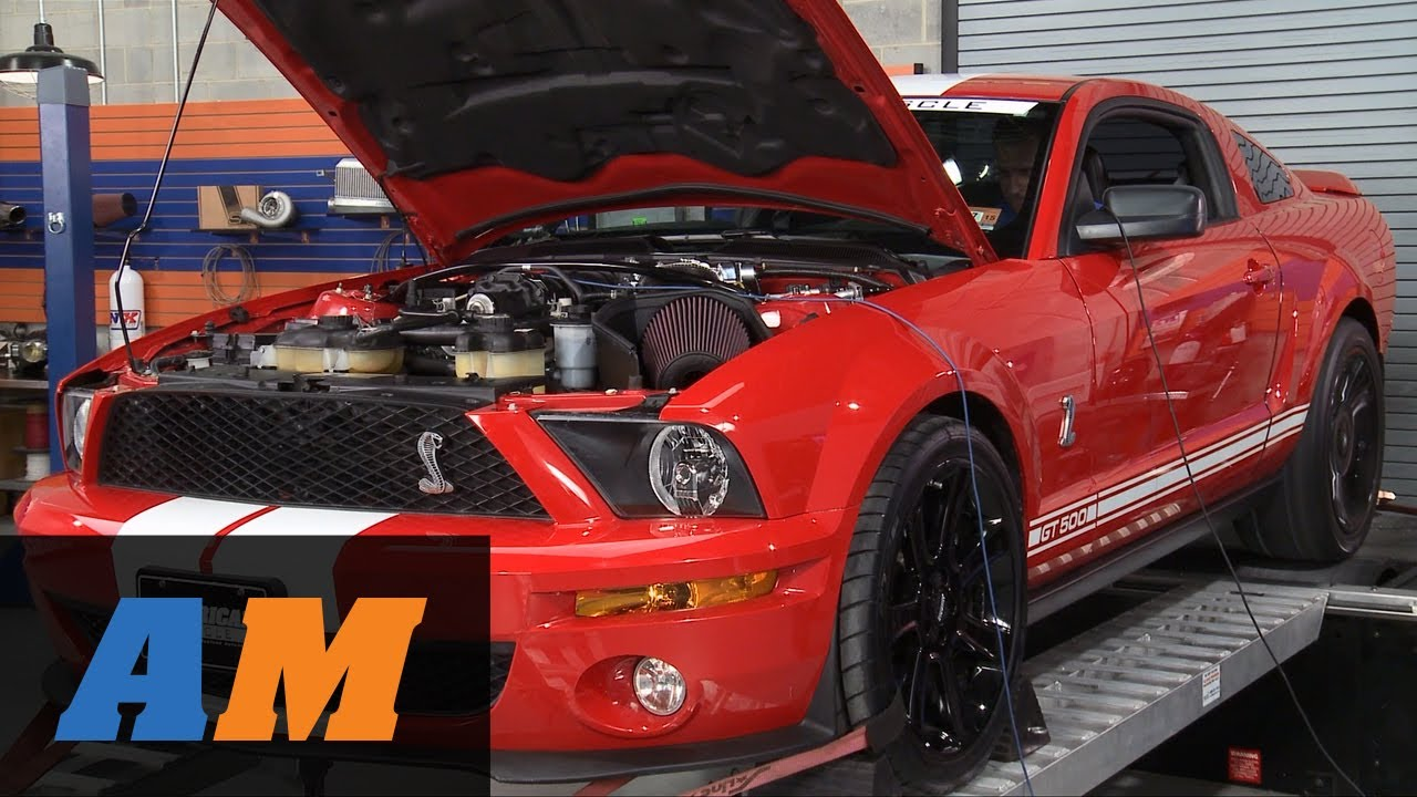 Stage 1 2007 2009 Shelby Gt500 Bolt On Build Up