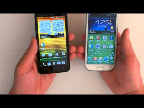 Samsung Galaxy S3 vs. HTC Evo 4G LTE