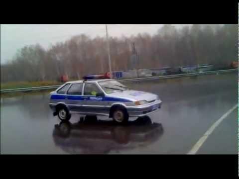 ДПС Крутинка Омская обл. нарушают ПДД 30.04.2012