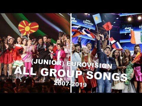 (Junior) Eurovision: All group songs (2007-2019)