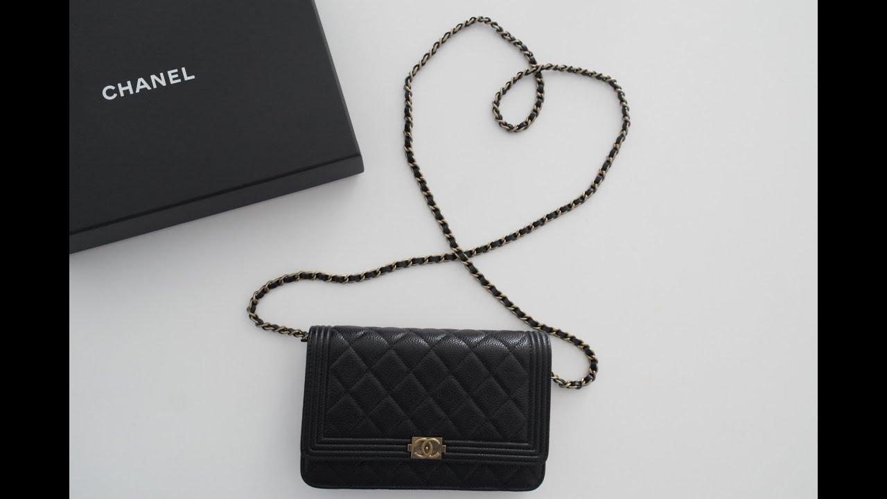 Chanel Boy Woc Clutch Bag up on Chanel Boy Woc