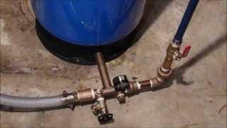 Testing and Replacing Your Pump Tank...Waterlogged tank...Plumbing Tips!