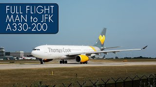Thomas Cook Airlines Full Flight | Manchester to New York JFK