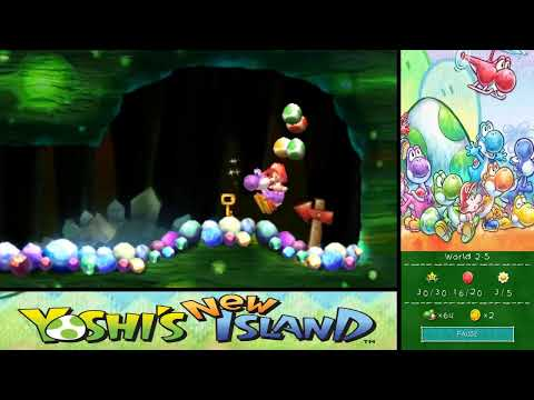 Yoshi's New Island 100% Walkthrough - World 2-4 & World 2-5