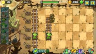 Wild West Day 11 12   Plants vs Zombie 2 Walkthrough