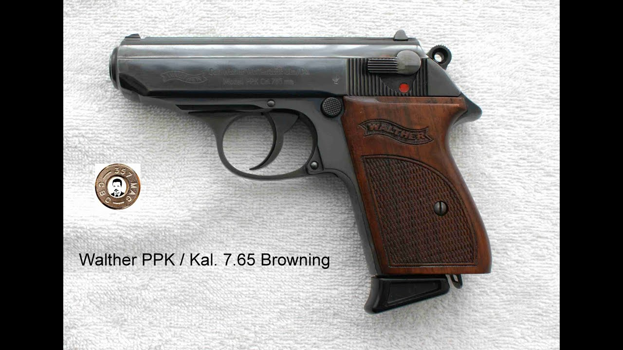 Disassembly Walther Ppk Walther Ppk Zerlegen