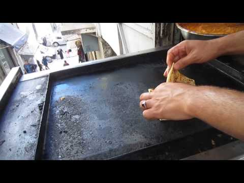 Algeria | Mhadjeb | Street Food in The Casbah of Algiers | Algerie - Alger