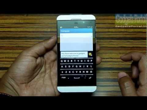 BlackBerry Z10 TIPS and TRICKS, TUTORIAL REVIEW Part 1 by Gadgets Portal