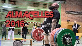 OPEN POWERLIFTING - ALMACELLES 2016 - TEAM STRONGMAN TARRAKO