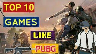 सबसे बढ़िया 10 गेम PUBG की तरह    Android/ios