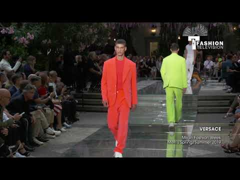 VERSACE Milan Fashion Week Men's Spring/Summer 2019 Highlight