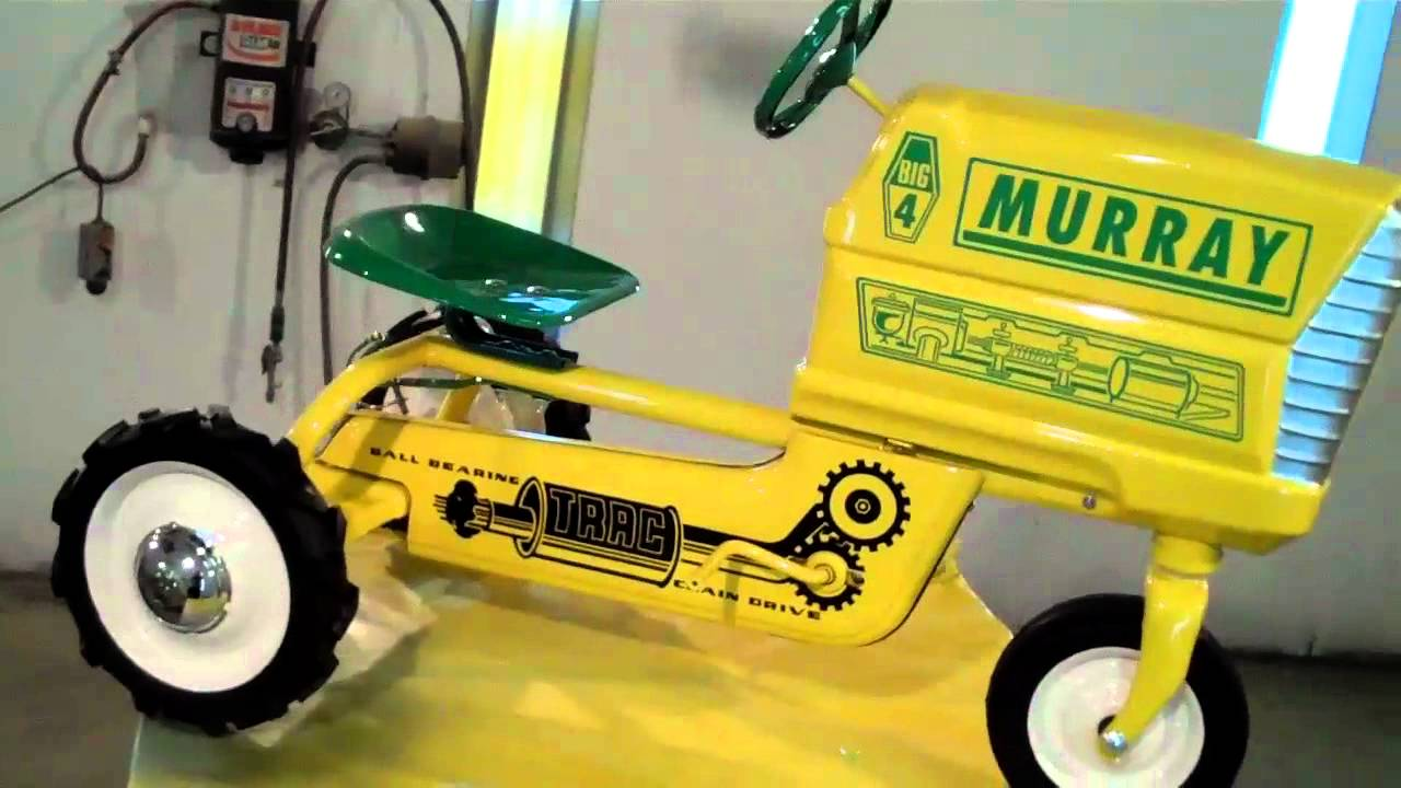 Murray Pedal Tractor Restoration : Murray pedal tractor restoration pictures to pin on