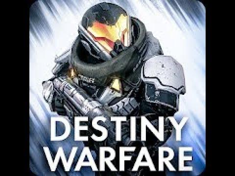 Destiny Warfare : Sci-fi FPS - First 10 minutes Gameplay