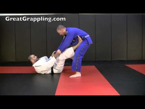 X Guard Sweep Drop Ankle and Dump