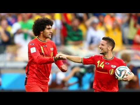 BELGIUM's highlights 2-1 Algeria | 2014 World Cup Group H | 2014/06/17