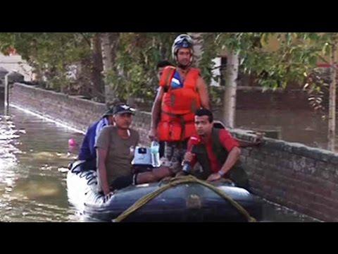 Jammu and Kashmir floods: Navy's hands on deck