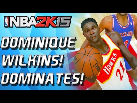 NBA 2K15 MyTeam - DOMINIQUE WILKINS DEBUT! GAMEBREAKING SLAM! - Seed 4 Debut!