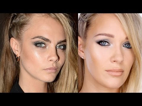 Cara Delevingne Makeup Tutorial