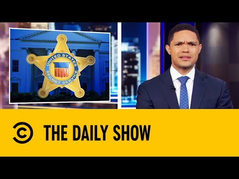 Secret Service Agents Hire Jet Skis To Protect Trump  The Daily Show With Trevor Noah