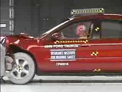 Crash Test 2000 - 2006 Ford Taurus IIHS