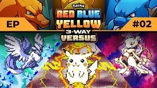 THE COMEBACK KID RETURNS! | Pokemon Red / Blue / Yellow #3WayVersus EP02
