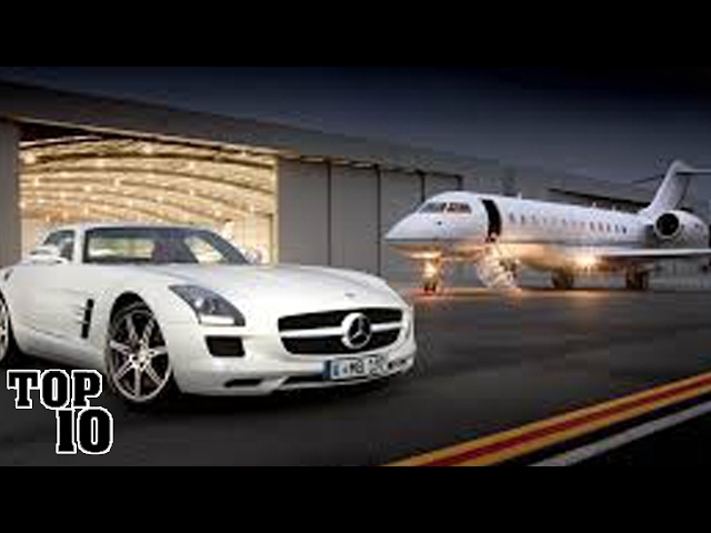 Top 10 Items That Billionaires Can Only Afford