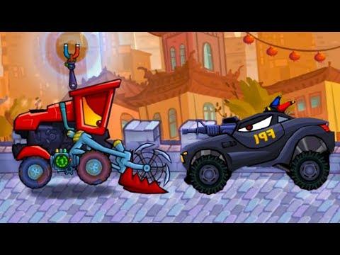 Хищные машины 3 Машина ест машину Car Eats Car #22 мультик игра про гонки с тачками #МАШИНКИКИДА