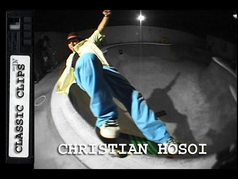 Christian Hosoi Skateboarding Classic Clips #243
