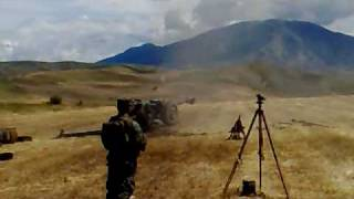 122mm howitzer d30 action fire