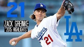 Zack Greinke | 2015 Dodgers Highlights HD