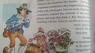 Rip Van Winkle Lesson for VI Class English Reader