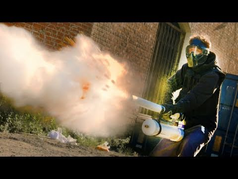 Master Blaster (Slow Mo Paintball SHOTGUN)