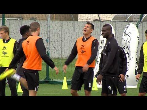 Pre-Spurs training preparation