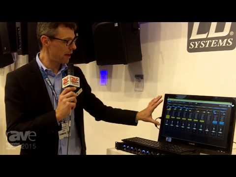 ISE 2015: Adam Hall Explains the New LD Systems AM8 R-Channel Automatic Mixer