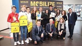 Entrega del premio Tus ideas, Tus iniciativas en Autocarpe Renault