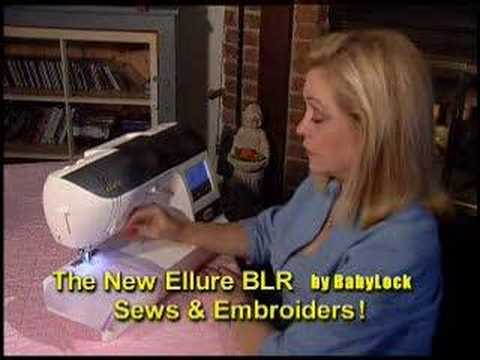 Sewing Machine Demo: baby lock BLR machine