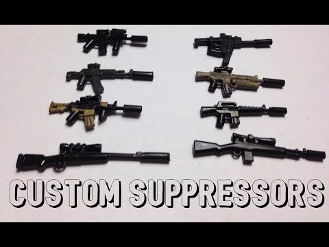 How-To Make a Lego Suppressor