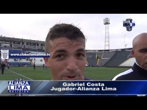 """Gabriel Costa: """"Mis goles se los dedico al Comando Sur"""""""