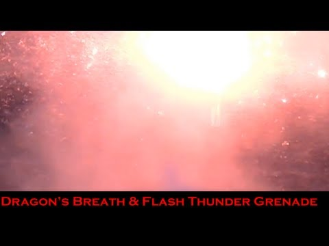 Exotic Shotgun Ammo Pt2 - Dragon's Breath & Flash Thunder Grenade