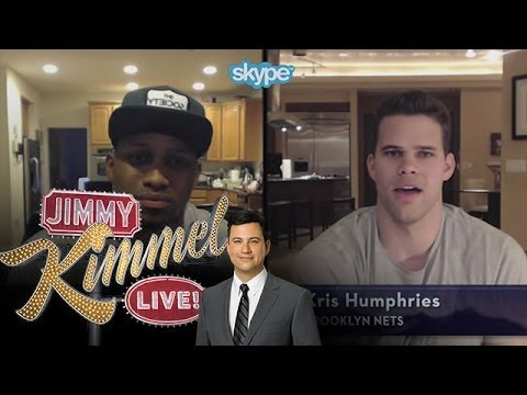 Skype Scavenger Hunt NBA Edition with Rudy Gay & Kris Humphries