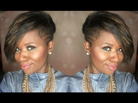 Natural Hair Tapered Haircut with Shaved Sides  Beautylynk.com Review