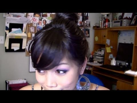 How to Wear Faux Bangs/Fringe -itsJudyTime
