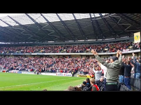 7000 Sheffield United Fans Singing Greasy Chip Butty Before KO Vs Mk Dons