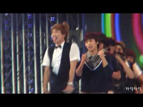 [fancam] 090904 Sorinanum Concert Super Junior Pajama Party (leeteuk) video